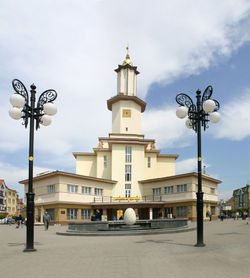 Ivano-Frankivsk's town hall.